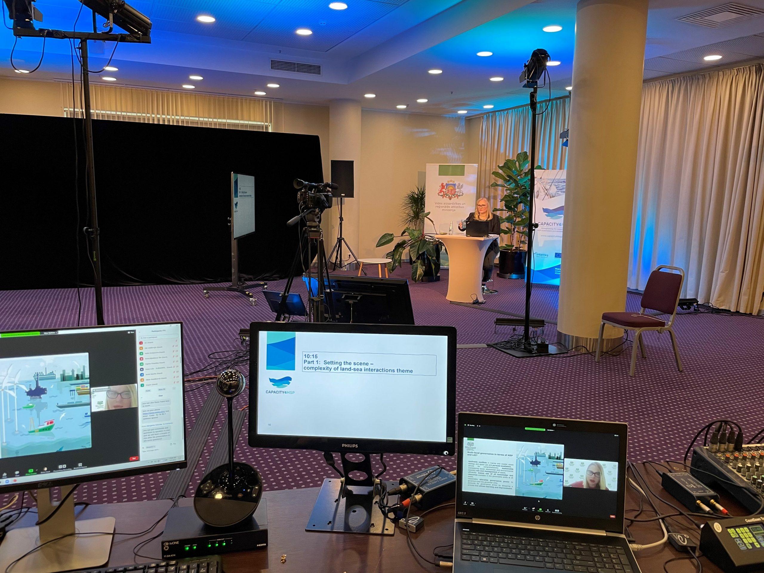 workshop behind the scenes